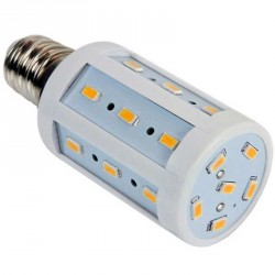 Lampe Spectra color 24 LEDs SMD 5630 culot E14 - 230 Volts 4 Watts