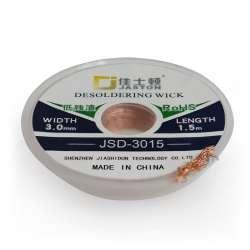 Tresses à dessouder en cuivre ultra pure 3015