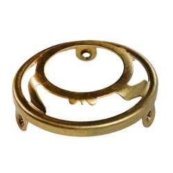 Collerette en laiton support luminaire ou abat-jour diametre 33 mm