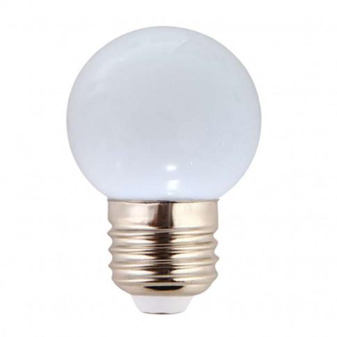 Ampoule LED sphérique G45 à culot E27 couleur d'éclairage blanc
