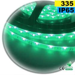 Strip LED latérale couleur vert LED-335 IP65 120 LED/m 30 mètres