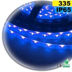 Strip LED latérale couleur bleu LED-335 IP65 120 LED/m 30 mètres
