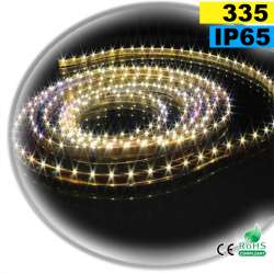 Strip Led latérale blanc chaud LEDs-335 IP65 60leds/m sur mesure