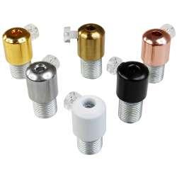 Serre câble lisse couleurs au choix diamètre de passage de câble 4.3mm