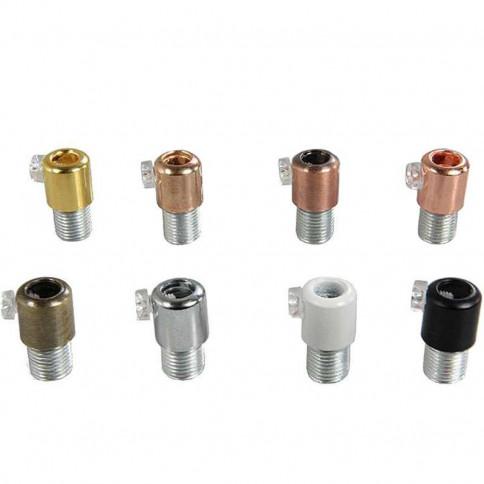 Serre câble lisse couleurs au choix diamètre de passage de câble 6.8mm