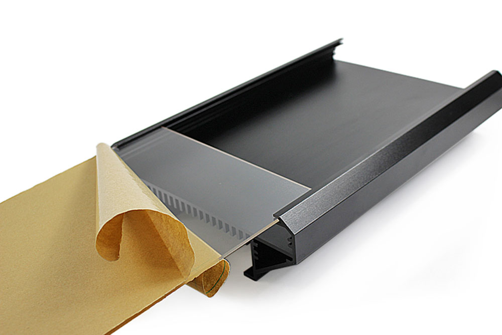 Dyna-LED échangeur aluminium LED plexi