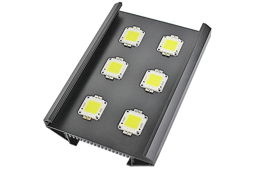 échangeur aluminium multi usage pour l'aquariophilie ou l'éclairage horticole LED matriciel