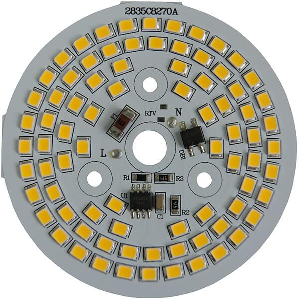 AC LED 12 WATTS 82 LEDs 2835 SMD