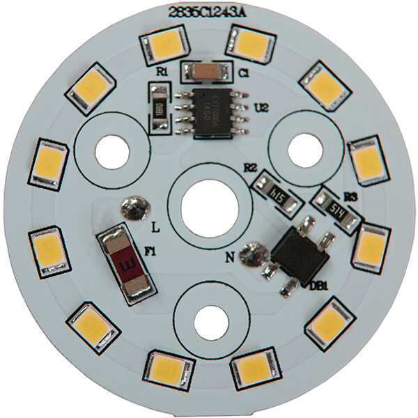AC LED 5 WATTS 12 LEDs 2835 SMD (2)
