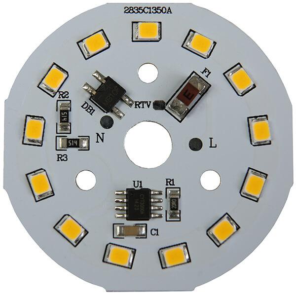 AC LED 7 WATTS 13 LEDs 2835 SMD
