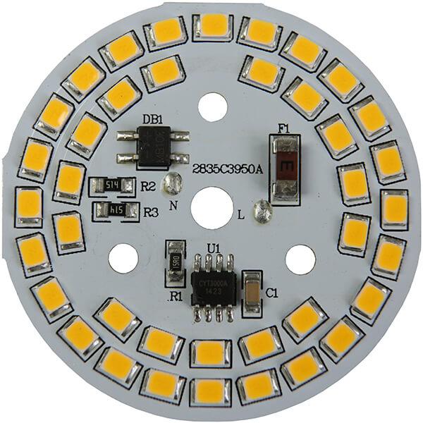 AC LED 9 WATTS 39 LEDs 2835 SMD