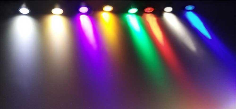 Ampoule LED GU10 RGB-W multicolor