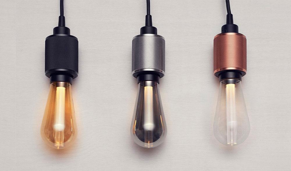 Ampoule LED ST64 avec diffuseur optique lineaire