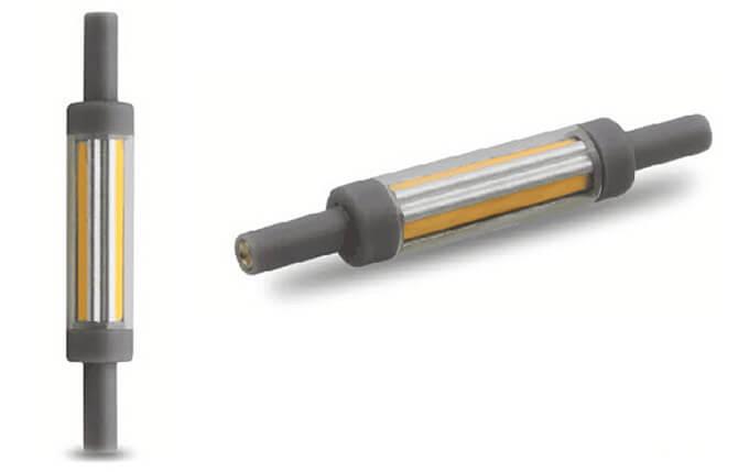 ampoule slim r7s quip e de 4 led cob 12mm 78mm 5 watts. Black Bedroom Furniture Sets. Home Design Ideas