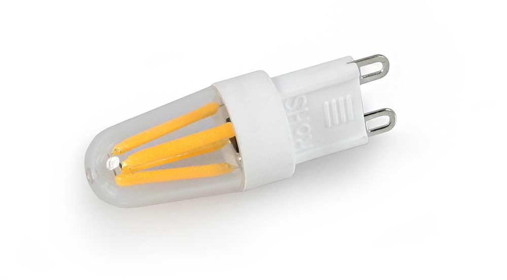 Ampoule LED CULOT g9 quatre filament