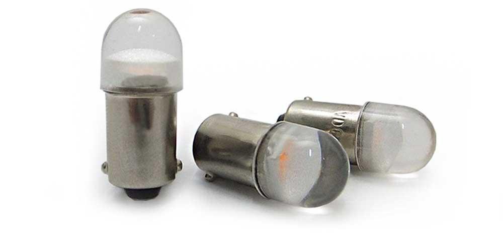 Ampoule LED à culot BA9S pour armoire électrique 12 volts DC