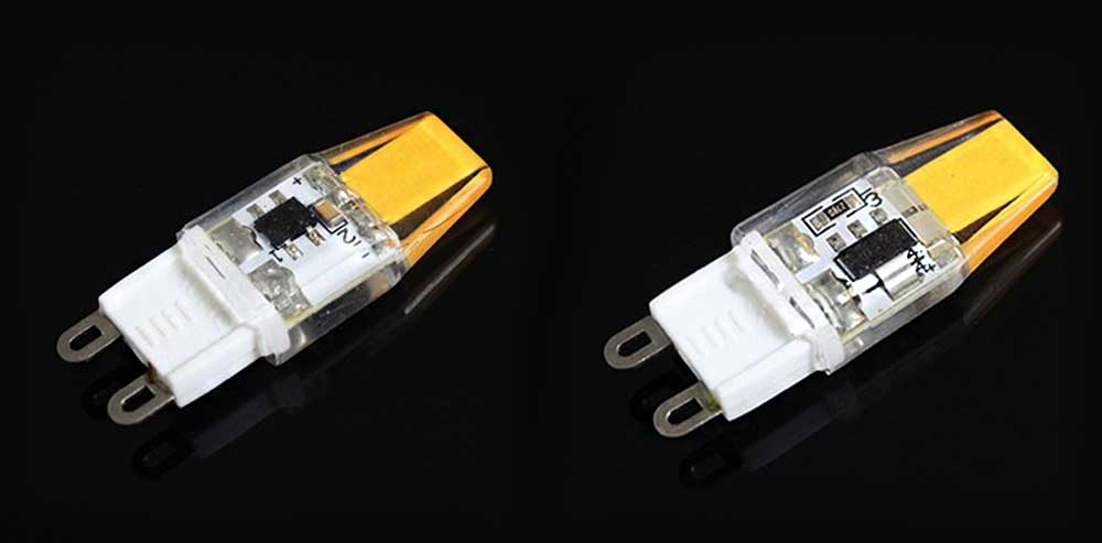 Ampoule LED G9 1508 watts en 230 Volts