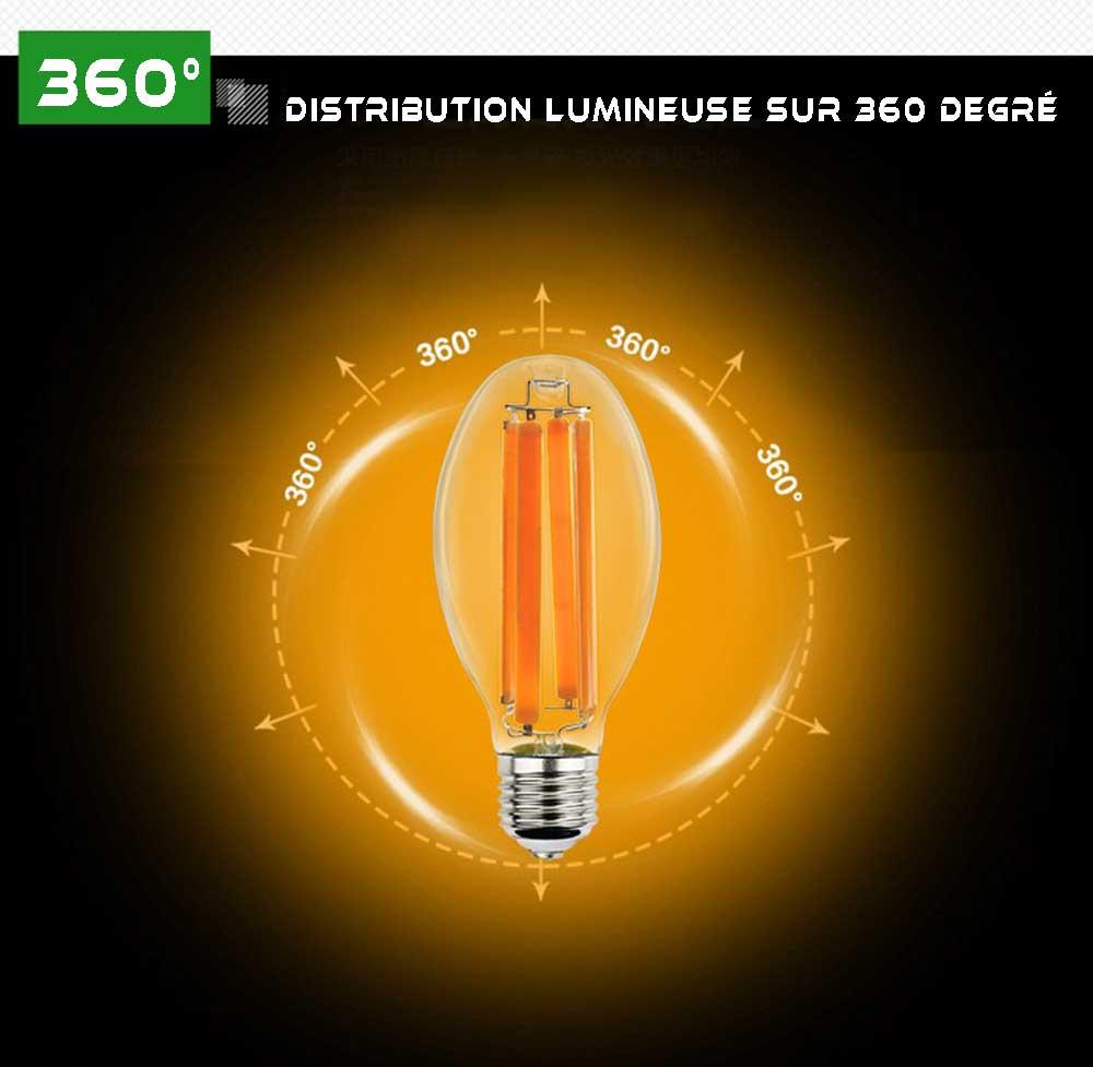 Ampoule LED E40 COB de 36 watts 1