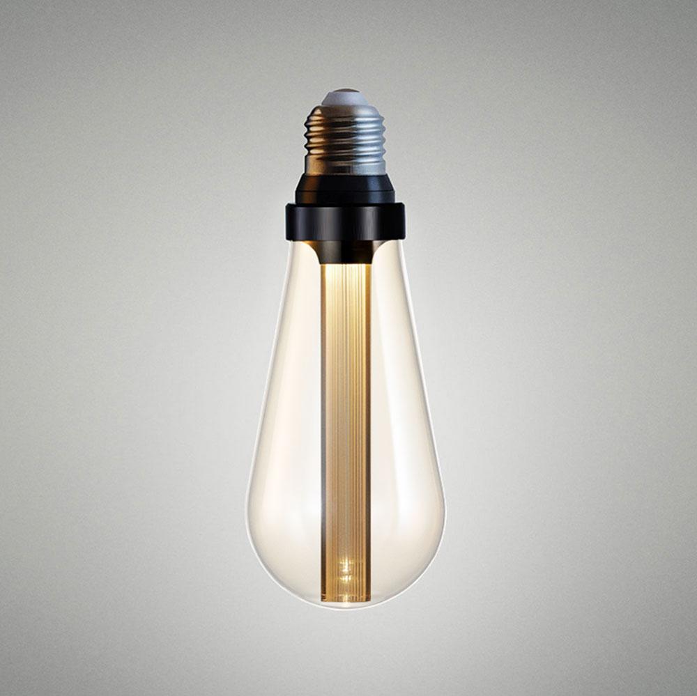 Ampoule LED en format ST64 avec diffuseur optique verre blanc