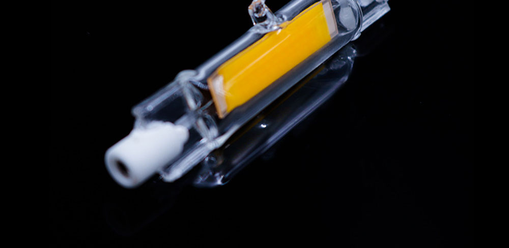 Ampoule LED R7s Ø13mm LED linear COB dimmable