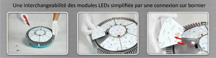 Platine connexion LEDs