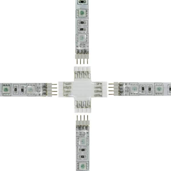 Connecteur souple à coller strip LEDs