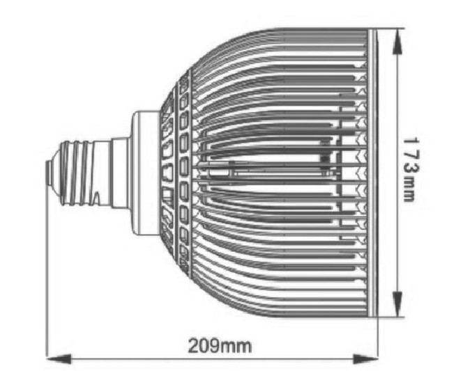 imention-E27-PAR56-37LED