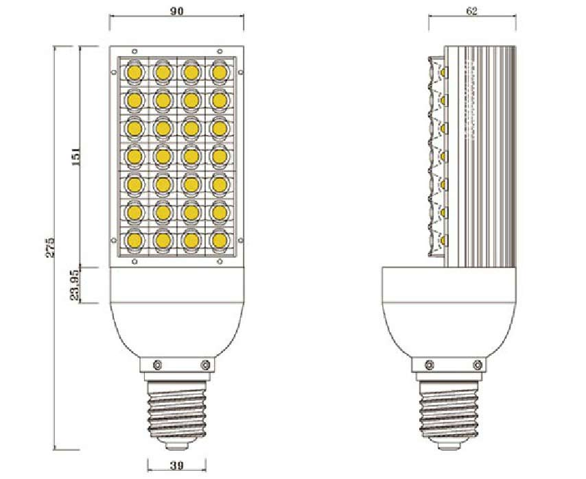 Dimention-ampoule-E40-28LED-High-Power
