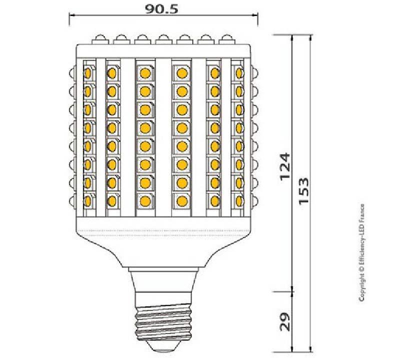 Dimention-ampoule-LED-128-LED