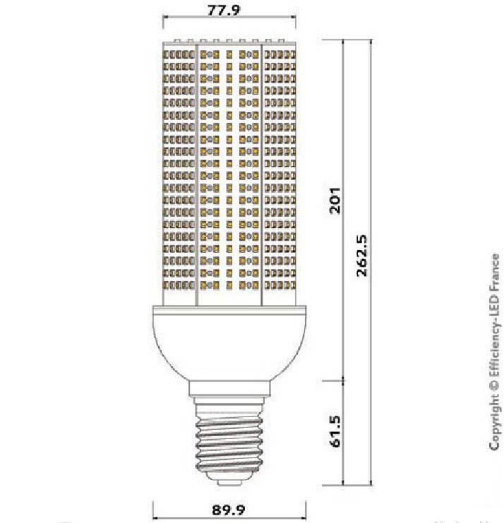 Dimention-ampoule-LED-660-LED
