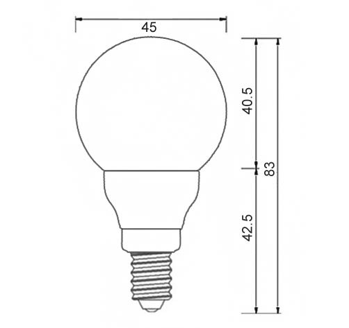 Dimention-ampoule-LED-E14-sphérique-couleur