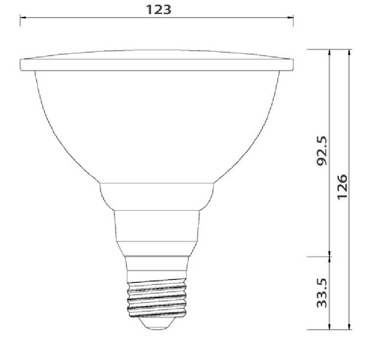 Dimention-ampoule-LED-E27-60LED-SMD