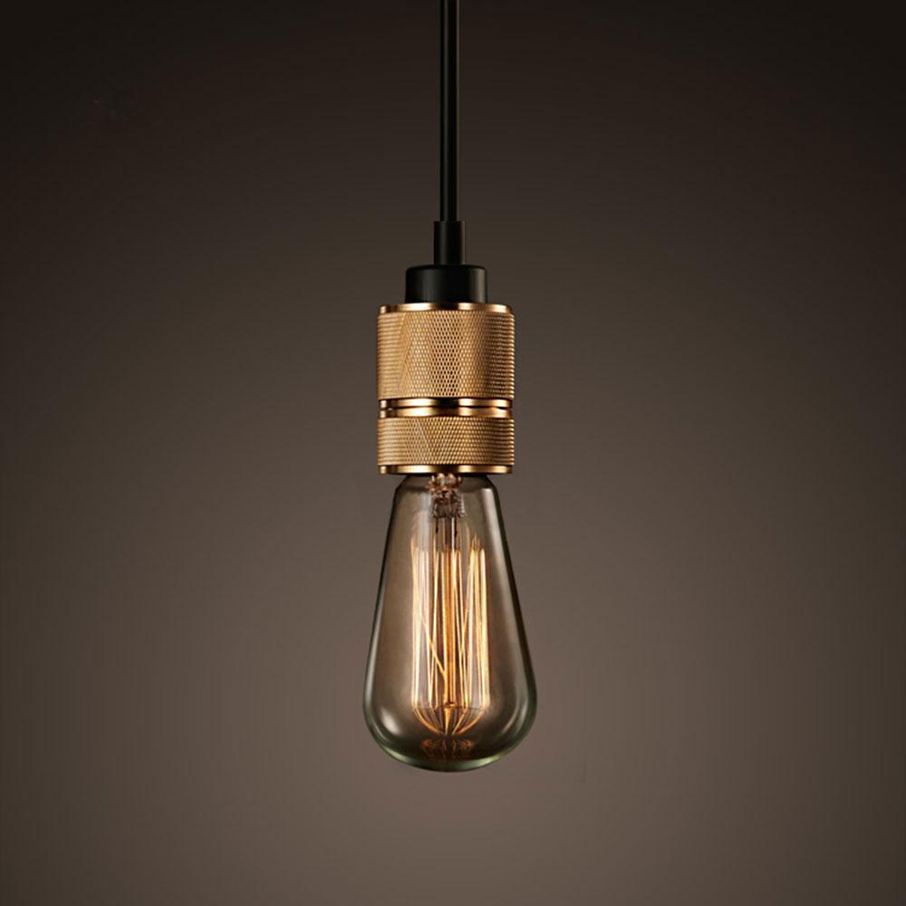 douille e27 classic club laiton massif usin e pour lampe style edison. Black Bedroom Furniture Sets. Home Design Ideas
