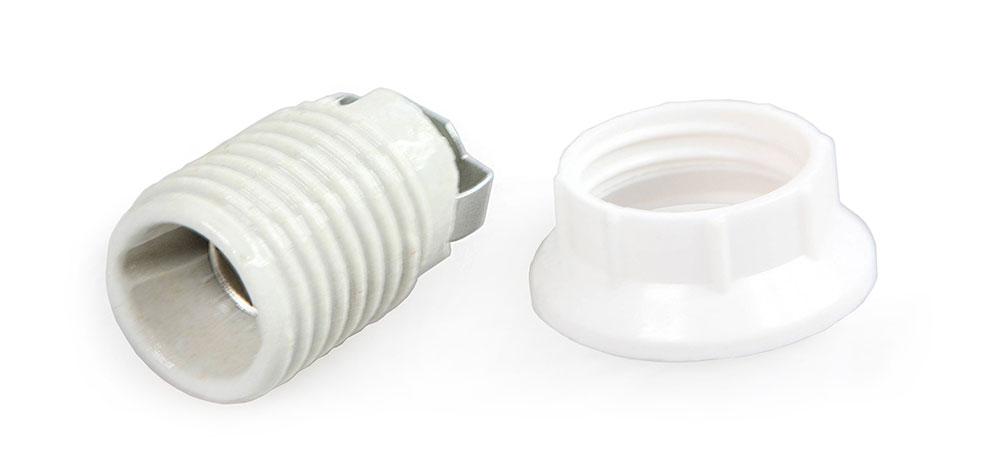 Douille-bague E14 tube filetée M10