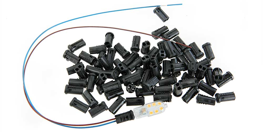 Douille G4 vendu sans les câbles et les connecteurs
