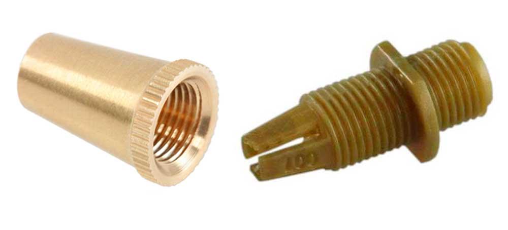 Serre câble électrique en laiton M10