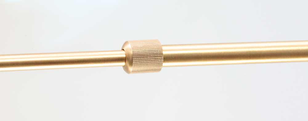 tube telescopique laiton