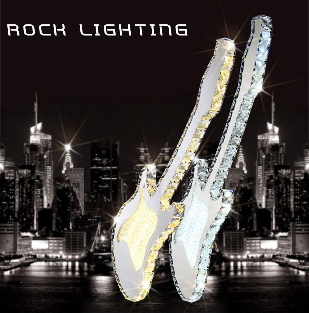 Color Luminaire Guitare Rock'n 40 Suspension Watts Roll Dimma ÉlectriqueUne Design Et Led PXuZik