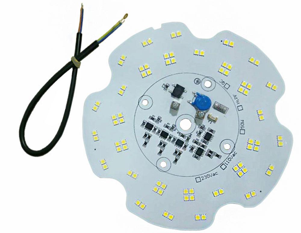 Platine High Bay AC LED 50 watts