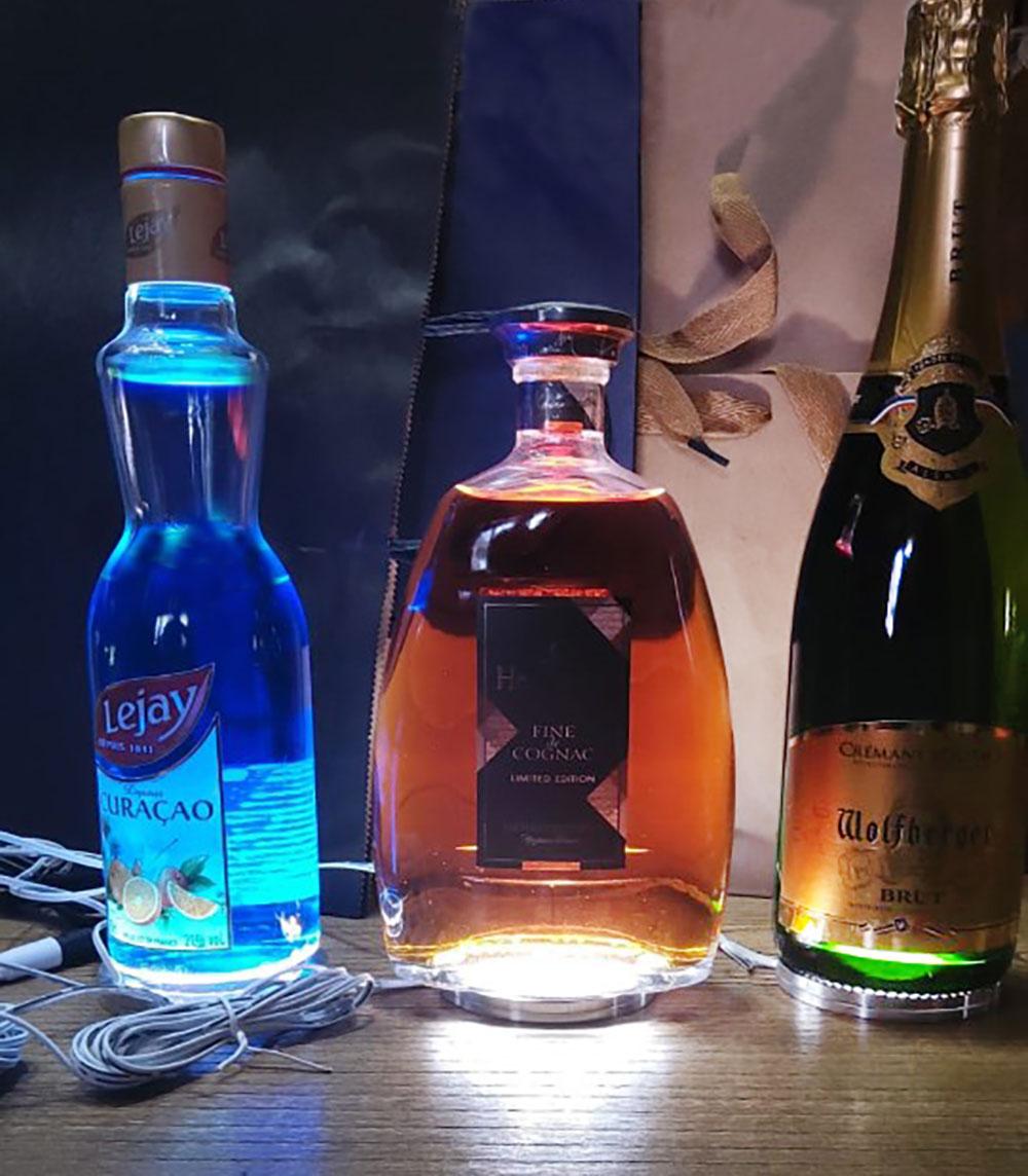 Panels LED ultra plat 30 SMD 2835 - Ø 80mm 12 volts pour étagère, armoire ou éclairage de bouteilles de bar