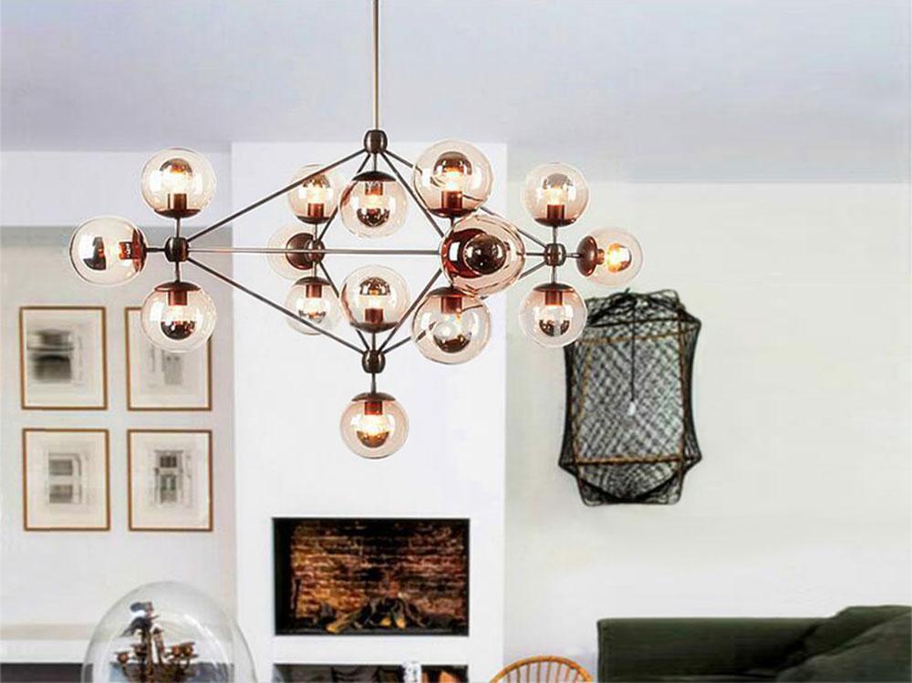 Luminaire ampoule LED filament G125
