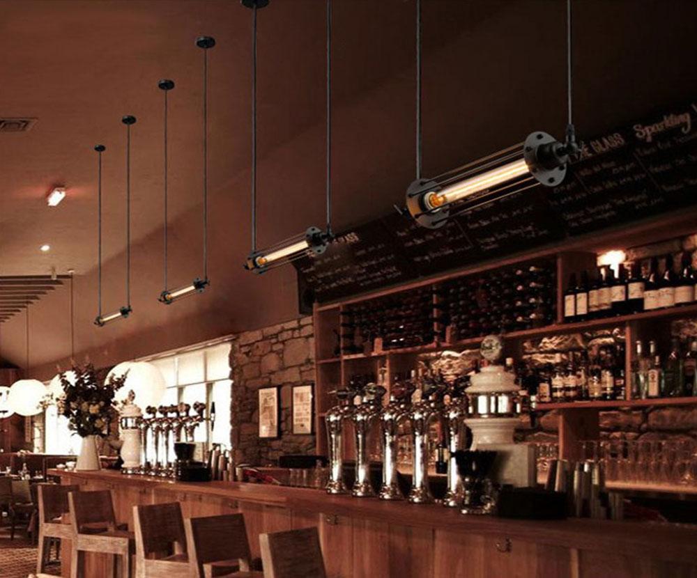 Luminaire lampe T30 horizontal bar