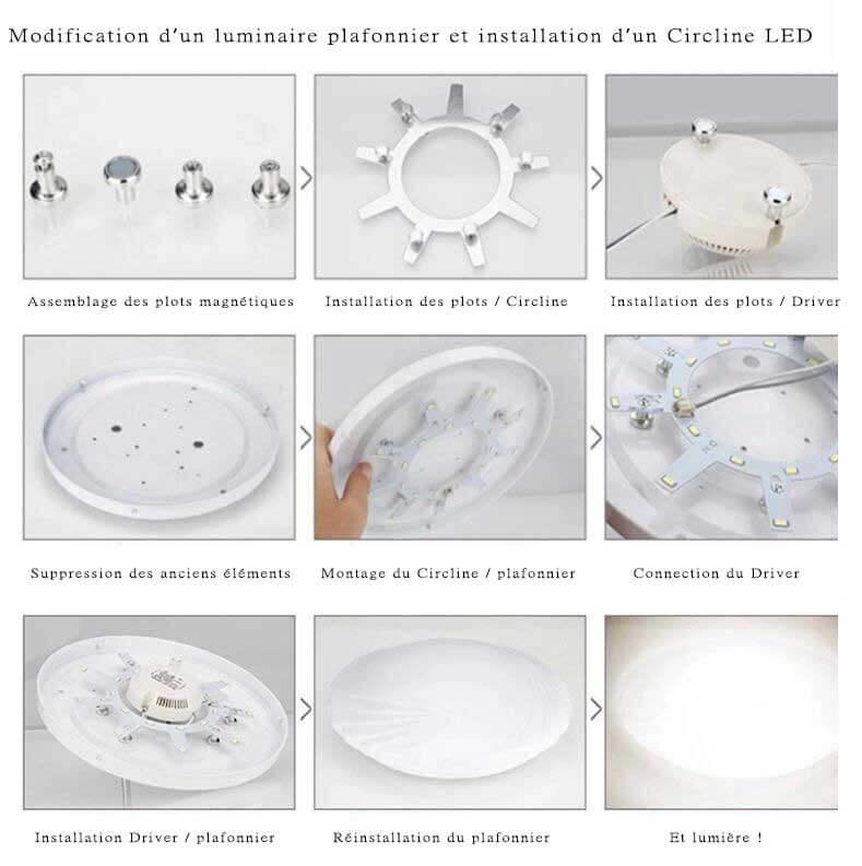 Modification luminaire Circline