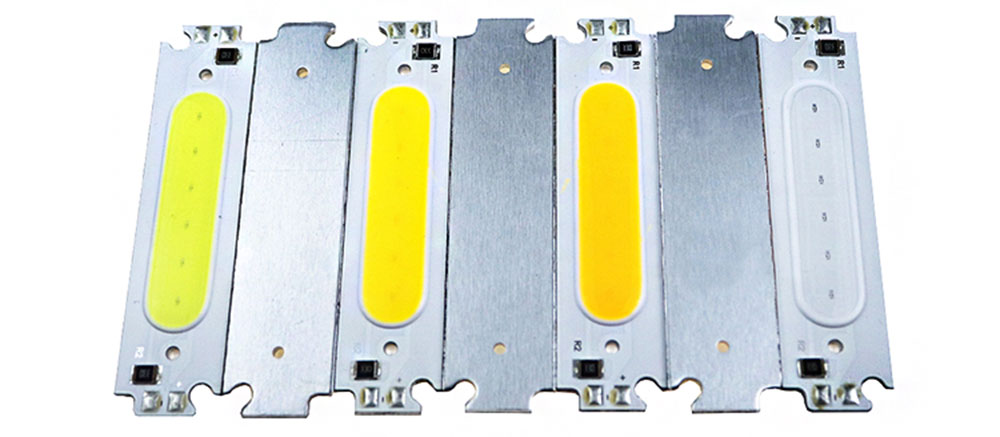 Platine aluminium LED DIY 12 volts couleur back