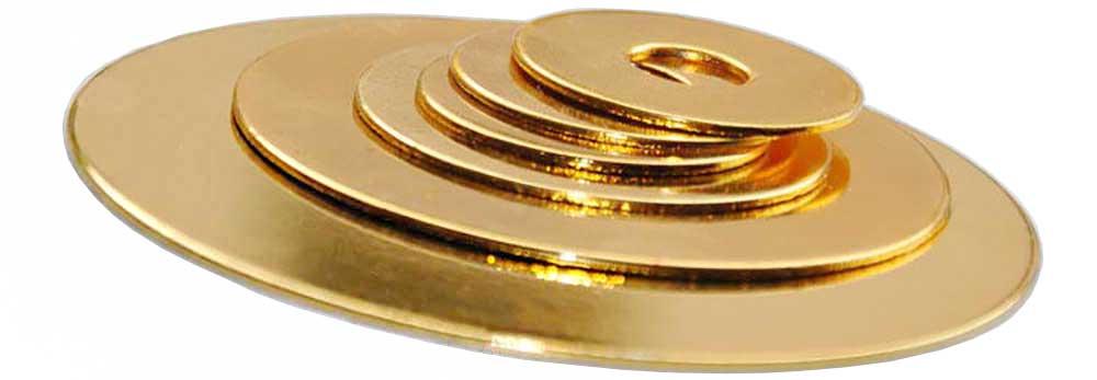 Rondelle chromee OR M10 epaisseur 1mm