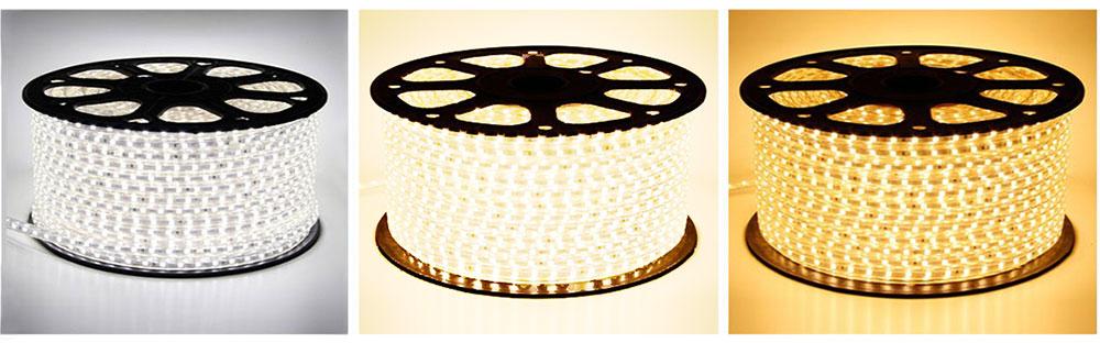 Strip LED 230 volts les couleurs eclairage