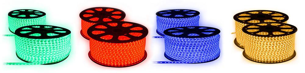 Strip LED 230 volts toutes les couleurs