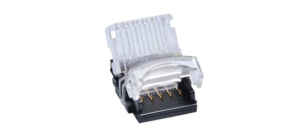 Connecteur-Striplock-RGB-W ruban LED in