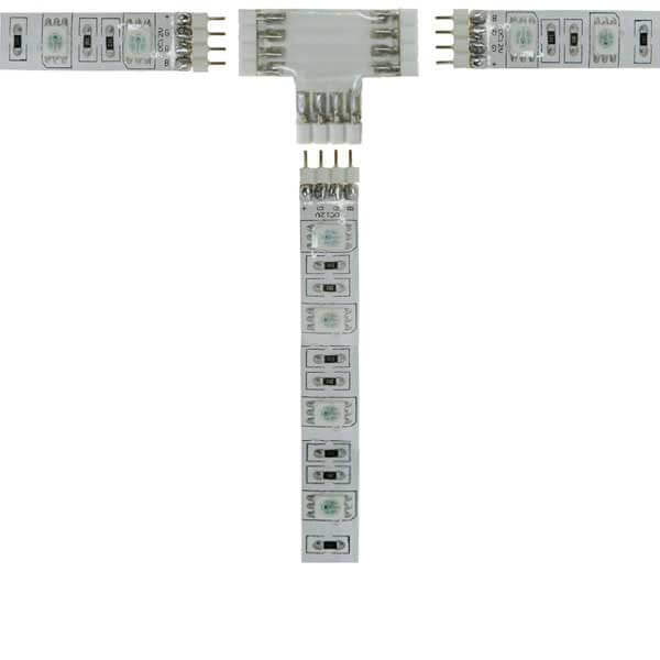 Connecteur souple à coller strip LEDs