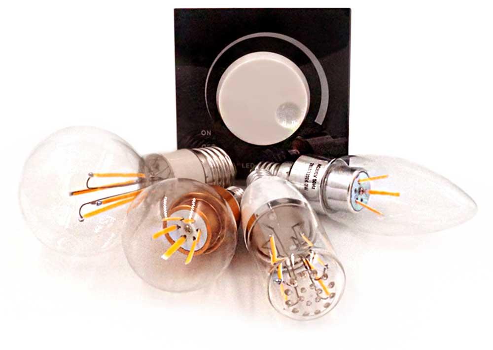 Variateur stepless 230 volts ampoule dimmable
